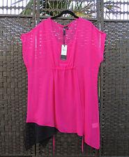 TS 14+ Carousal Tunic Top Magenta Fuschia Hot Pink 16 BNWT RRP$119.95