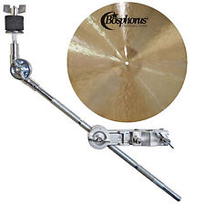Bosphorus Traditional Splash 12'' Becken + KEEPDRUM HKC Galgen-Beckenarm