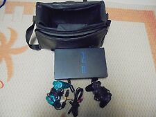 Play Station 2 & 2 Controllers (Carrying Case)          (6)