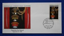 Marshall Islands (265) 1990 WWII: Tripartite Pact Signed Official FDC