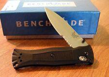 BENCHMADE New Mel Pardue Folder Part Serrated 154CM Blade Knife/Knives