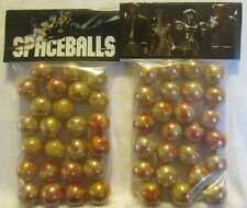 """2 Bags Of Spaceballs """"The Science Fiction Movie"""" Promo Marbles"""