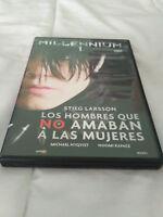 Millennium 1 Los Hombres Que No Amaban A Las Mujeres Pelicula Dvd