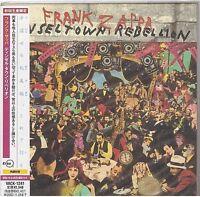 FRANK ZAPPA tinsel town rebellion CD mini lp JAPAN VACK-1241 new