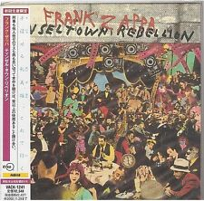 FRANK ZAPPA tinsel town rebellion CD mini lp JAPAN VACK-1241 new