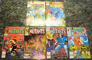 LOT of (6) NEW MUTANTS #80 82 91 95 96 97 (1989 | Marvel | Copper Age) NM+ (9.6)