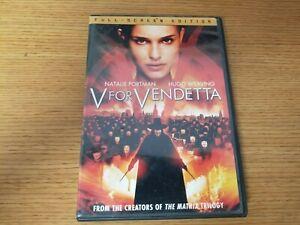 V for Vendetta DVD James McTeigue(DIR) 2005 Full Screen Edition