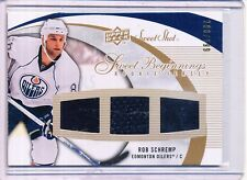 2007/08 UD SWEET SHOT ROB SCHREMP RC JERSEY 298/599