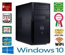 COMPUTER DELL VOSTRO  CPU INTEL i 3 2120 _ 3,30 GHZ 4 GB RAM DDR3 WINDOWS 10 PRO