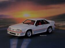 FOX BODY 1987 87 FORD MUSTANG GT 5.0  1/64 SCALE MODEL COLLECTIBLE DIORAMA