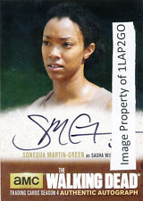 Walking Dead Season 4 Part 2 Sonequa Martin-Green SMG1 Autograph Auto Card