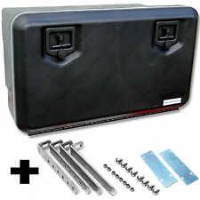LKW Staukasten 830x500x470mm, 119 Ltr + Vertik. Halter  Staubox Daken W120+VH020
