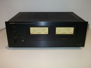 RARE VINTAGE HITACHI HMA-7500 STEREO POWER AMPLIFIER - MADE IN JAPAN