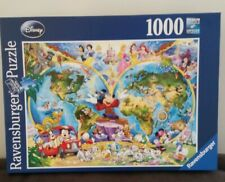 Ravensburger 1000 piece jigsaw puzzle. Disney's World Map