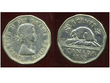 CANADA 5 cents  1962    ANM   ( bis )