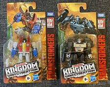 Megatron Starscream CORE Class WFC Transformers Cybertron Kingdom SEALED LOT NEW