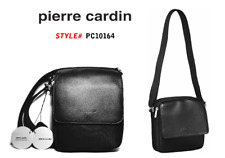 PIERRE CARDIN - Genuine Italian Leather - Shoulder Bag - Cross Body Bag-Male Bag