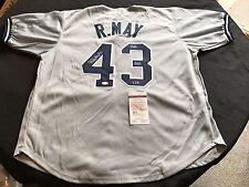 Rudy May New York Yankees Signed Custom Jersey JSA WPP