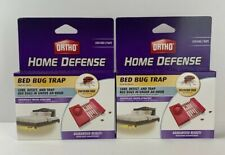 2 Pack Ortho Home Defense Bed Bug Trap (4 Traps Total) Free Shipping!
