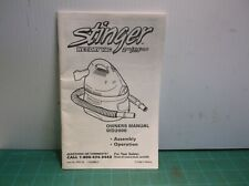Stinger WD2000 Wet Dry Vac Owners Manual (Manual Only)