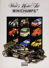 Paul's Model Art Minichamps Model Catalogue all Scales Diecast 2004 - Edition 1
