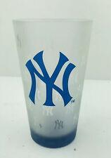 Mlb New York Yankees Baseball Tumbler Drinking Glass