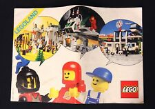 Vintage 1980's Lego Legoland Mail Order Catalog, Building Blocks