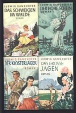 █ Ludwig GANGHOFER Der Hohe Schein / Das Schweigen im Walde / Der Klosterjäger..