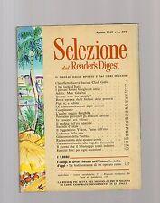 selezione dal reader digest - agosto 1969