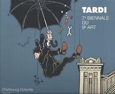 J.Tardi Catalogue pour l'exposition  7e biennale du 9e Art Cherbourg-Octeville