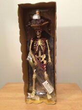 "Pirates Of The Caribbean Skeleton Figure 16"" Vinyl Disney Span Of Sunset"