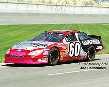 GREG BIFFLE NASCAR BUSCH SERIES ROOKIE 2001 #60 GRAINGER FORD TAURUS 8X10 PHOTO