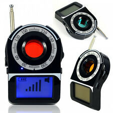 Anti-Spy Full Band Signal Bug RF Detector Hidden Camera Laser Lens GSM Finder