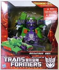 "MEGATRON Transformers Generations Voyager Class 7"" Figure Asia Exclusive 2012"