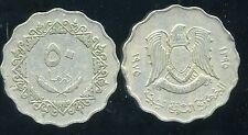 LIBYE  50 dirhams  1395-1975