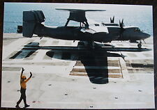 AVIATION, PHOTO AVION NORTHROP GRUMMAN 2 EC HAWKEYE II