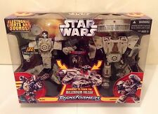Transformers UNIVERSE/STAR WARS Han Solo Chewbacca Millennium Falcon  NEW MIB