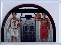 2019-20 Panini Crown Royale #13 DARIUS GARLAND Lords Of The Court Rookie #'D /75