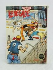 Renegade NES Taito Game and Box Only No Manual Included