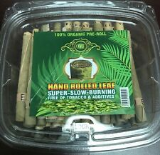 Pre Rolls Palm Leaf Natural Wraps (L Size) (1 Pack - 50  Wraps) Brand OME