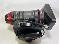 CANON CN-E 18-80MM T4.4 - 4K EF Compact Cine Lens & ZSG-C10 Zoom Grip