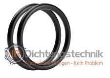 O-Ring Nullring Rundring 75,0 x 5,0 mm EPDM 70 Shore A schwarz (2 St.)