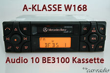 ORIGINALE Mercedes Audio 10 be3100 Becker CASSETTA AUTORADIO A-Classe w168 v168