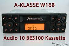Original Mercedes audio 10 be3100 becker casete autoradio a-clase w168 v168