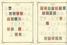 Iceland Collection 1873 to 1984 on 40 Scott Specialty Pages