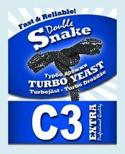 1 Alcotec Double Snake C3, 17% Alkohol Turbohefe Gärhefe Brennhefe Trockenhefe