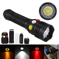 3000LM 12 LED Q5 LED Licht Gelb Weiß Rot Taschenlampe Signal lamp 18650 3-Modus