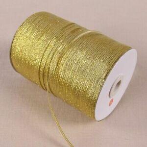 Ribbon Embellishment Satin Glitter Craft Gift Packing Sewing Belt Wedding Party