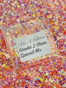 Nail Art Glitter (Goodie 2 Shoes) Chunky Cosmetic Glitter 5g Bag