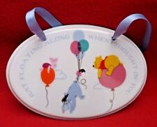Disney - Winnie The Pooh - Hanging Plaque - Floating - Brand New